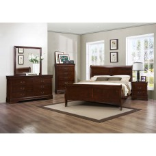 Louis Phillipe Suite Cherry Brown
