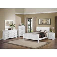 Louis Phillipe Suite White