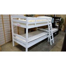 Jefferson Twin/Twin Bunk bed White