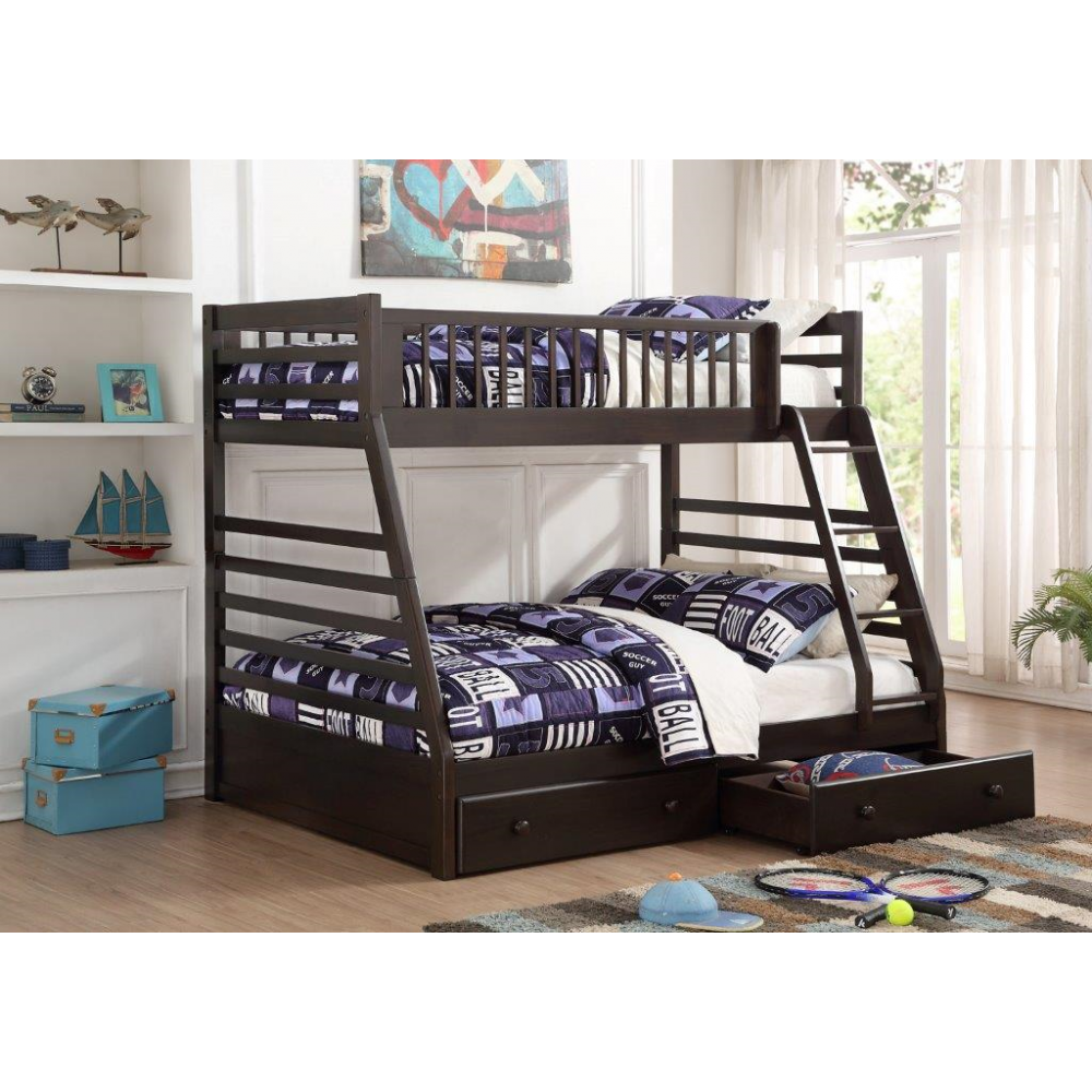 Mesa Twin Double Bunkbed