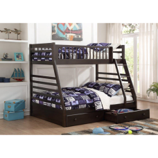 Mesa Twin/Double Bunkbed Slate