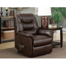 Stella Leather Air Power Lift Chair