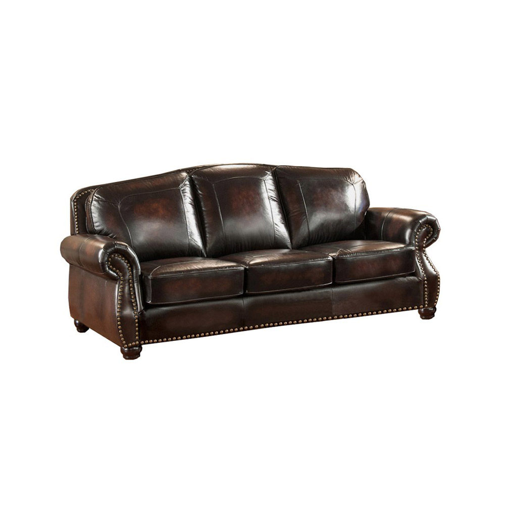 Hyde Leather Sofa Set