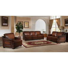 Winchester Leather Sofa Set